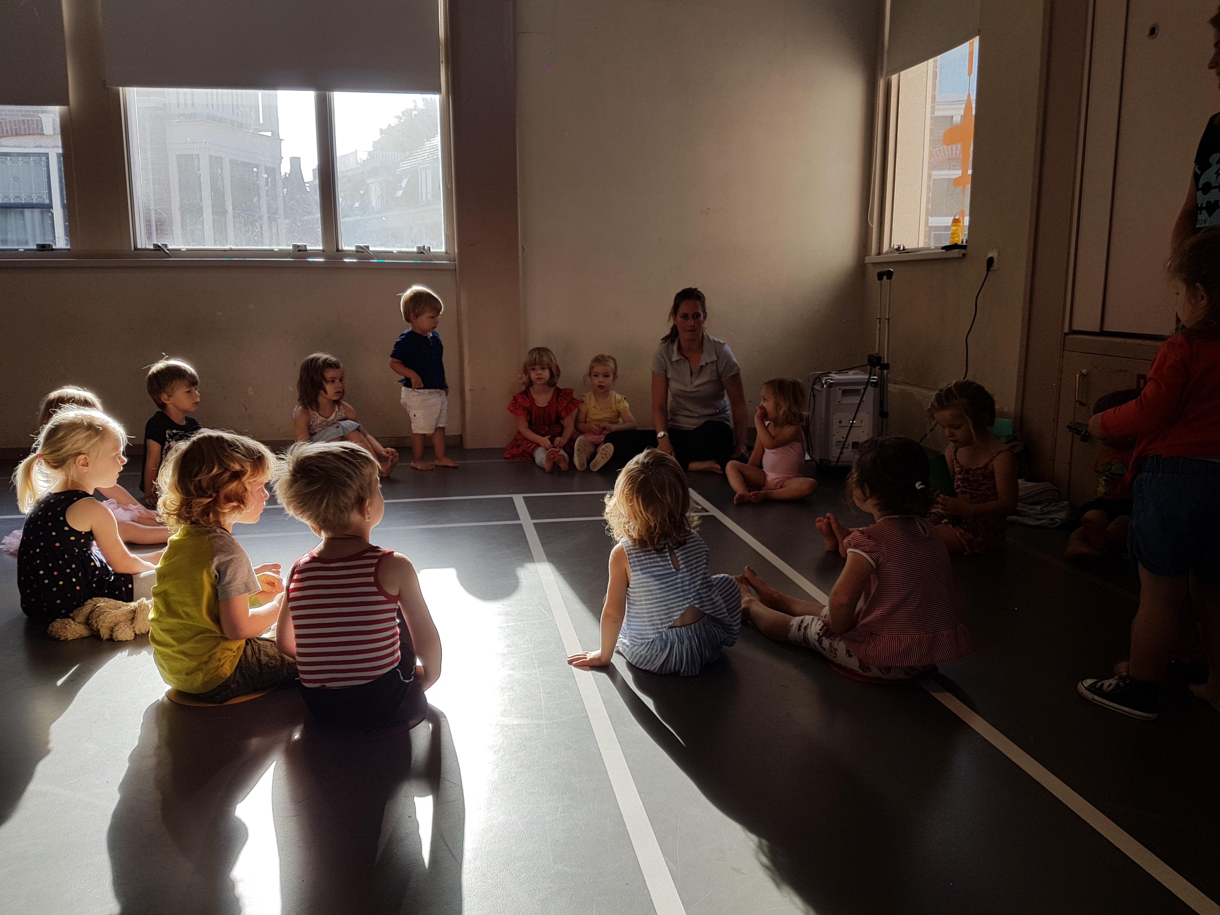 Spel en danslessen voor peuters