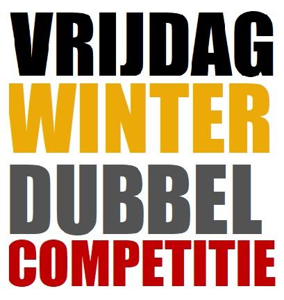 Vrijdagavond Winterdubbel Competitie